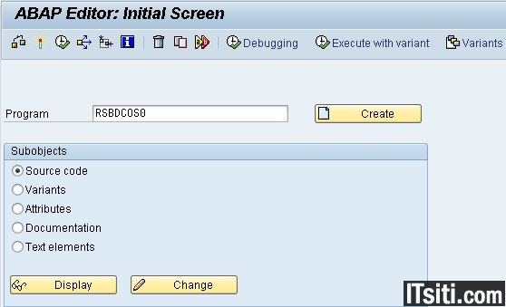 Execute OS Commands from SAP GUI