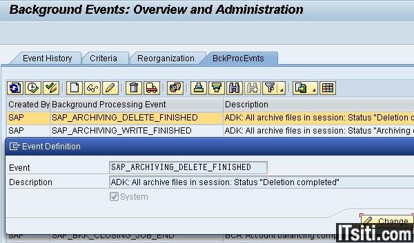 SM62: SAP Event Creation & Administration