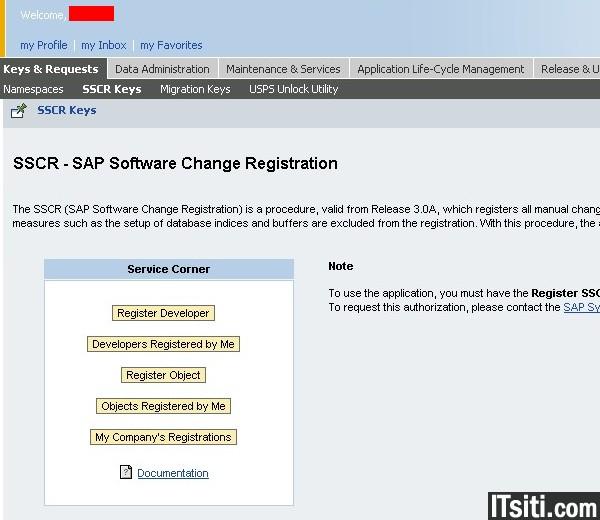 sap developer access key generator download