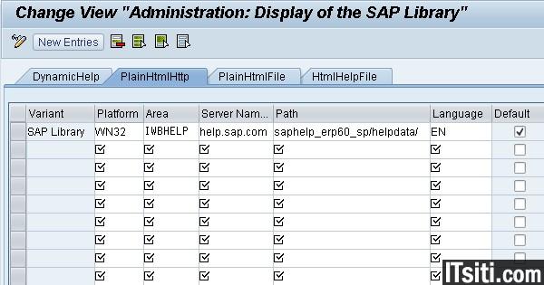 Configure SAP Help