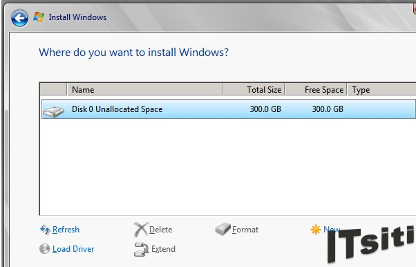 MS Server 2008 R2 Installation - Installation Location