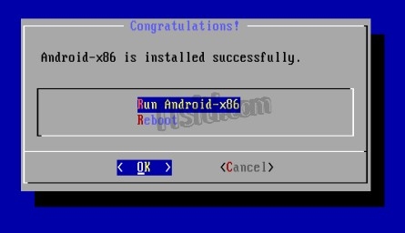 Android Installation - Installation Complete