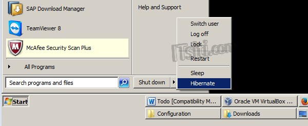 Disable Windows Hibernate