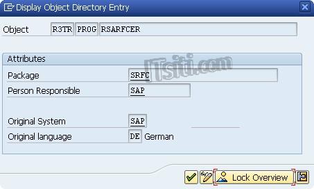 Determine Package Attribute of SAP Program