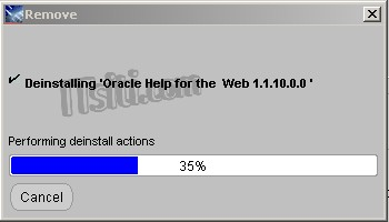 How to Uninstall Oracle 10g (Windows)