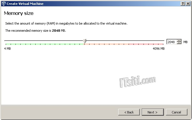 VM Clone - Memory Size