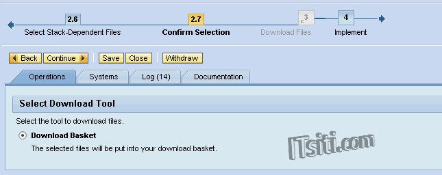 sap please assign erp 6.0 to the maintenance optimizer transaction