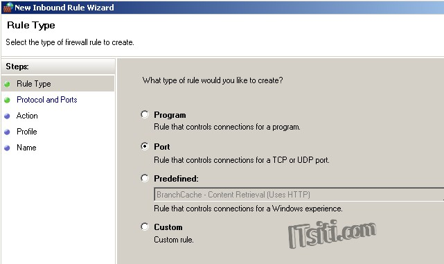 how to find port number in windows 7
