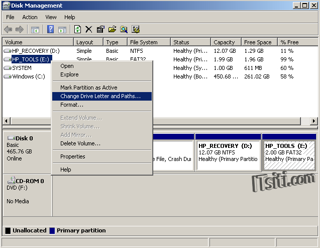 assign a letter to a network drive