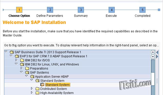 EHP3 for SAP CRM 7 Installation (Windows Server & DB2)