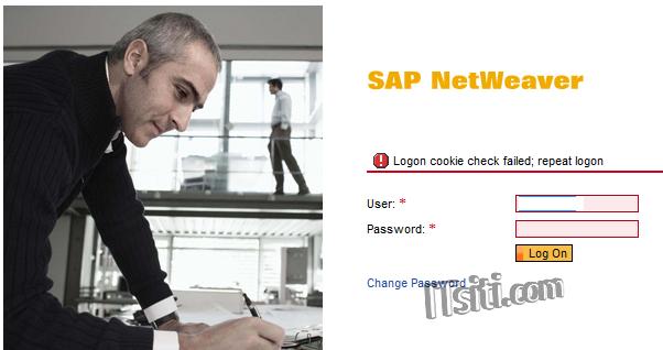 SICF: Logon cookie check failed
