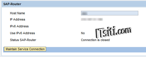 Steps to Open R/3 Connection for SAP Support