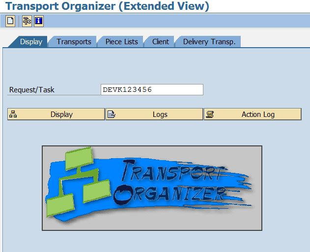 SE01 - Transport Organizer (Extended View)
